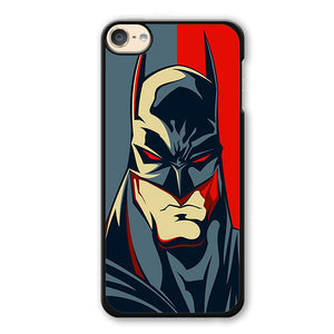 Batman Red Eyes Phonecase Cover Case For Apple Ipod 4 Ipod 5 Ipod 6