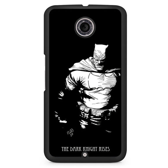 Batman The Dark Knight Rises Phonecase Cover Case For Google Nexus 4 Nexus 5 Nexus 6