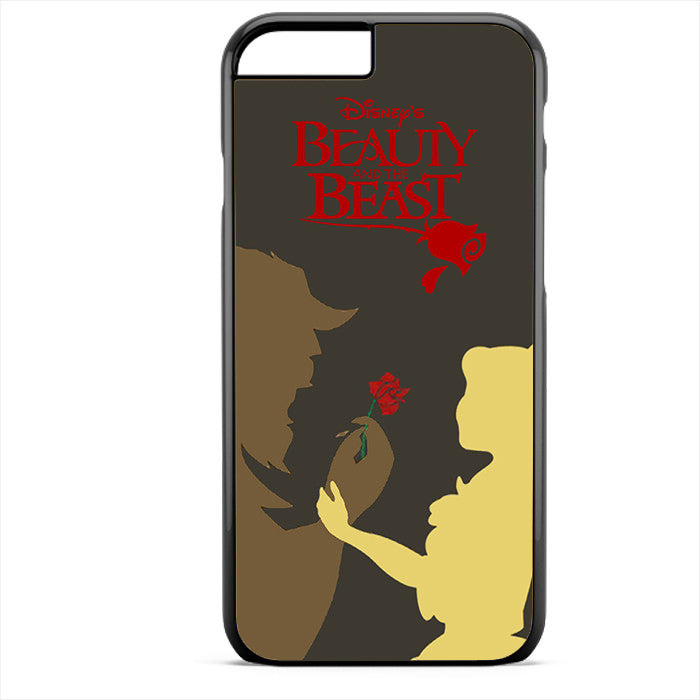 Beauty And The Beast Pster Phonecase For Iphone 4/4S Iphone 5/5S Iphone 5C Iphone 6 Iphone 6S Iphone 6 Plus Iphone 6S Plus