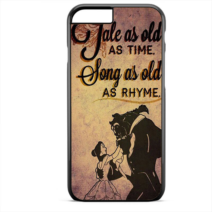 Beauty And The Beast Quotes Phonecase For Iphone 4/4S Iphone 5/5S Iphone 5C Iphone 6 Iphone 6S Iphone 6 Plus Iphone 6S Plus