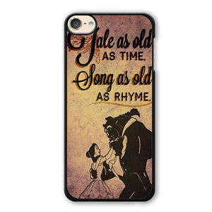 Beauty And The Beast Quotes Phonecase Cover Case For Apple Ipod 4 Ipod 5 Ipod 6