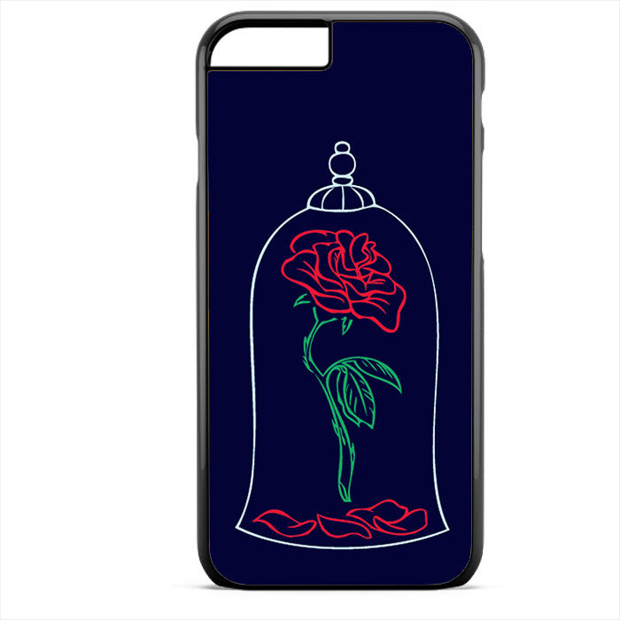 Beauty And The Beast Rose Phonecase For Iphone 4/4S Iphone 5/5S Iphone 5C Iphone 6 Iphone 6S Iphone 6 Plus Iphone 6S Plus