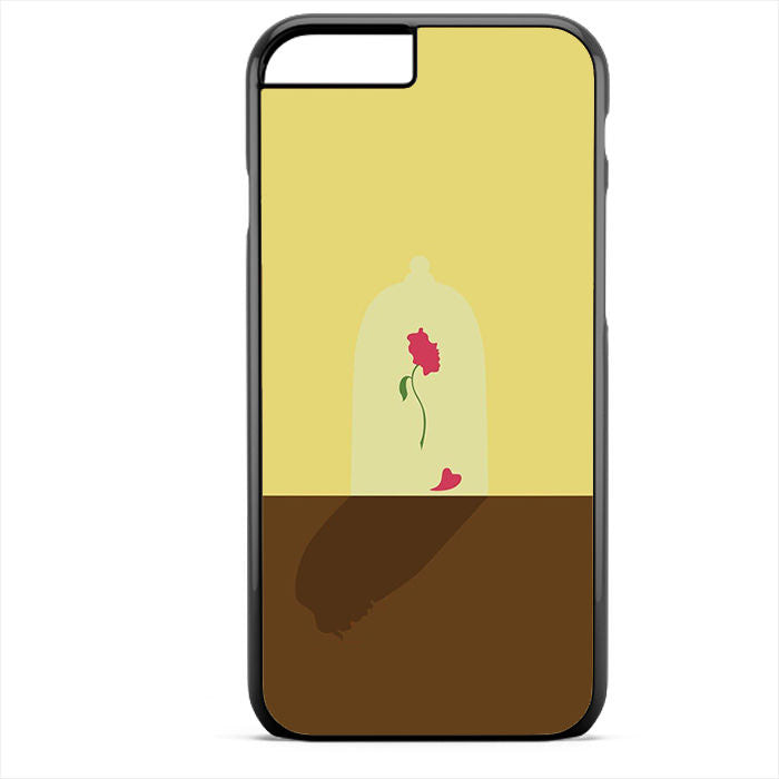 Beauty And The Beast Rose Art Phonecase For Iphone 4/4S Iphone 5/5S Iphone 5C Iphone 6 Iphone 6S Iphone 6 Plus Iphone 6S Plus