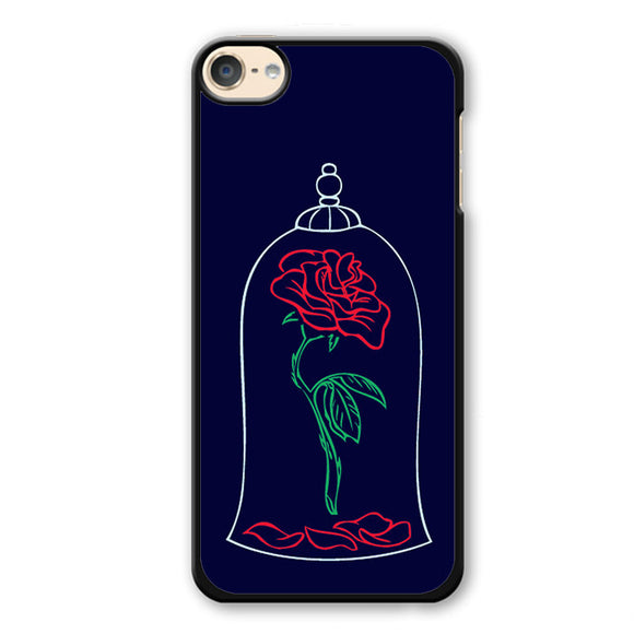 Beauty And The Beast Rose Phonecase Cover Case For Apple Ipod 4 Ipod 5 Ipod 6
