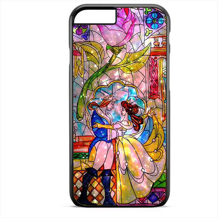 Beauty And The Beast Sparkle Phonecase For Iphone 4/4S Iphone 5/5S Iphone 5C Iphone 6 Iphone 6S Iphone 6 Plus Iphone 6S Plus