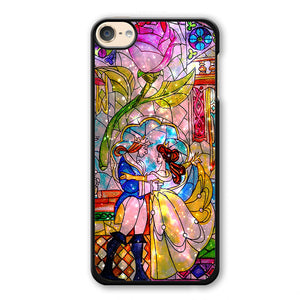 Beauty And The Beast Sparkle Phonecase Cover Case For Apple Ipod 4 Ipod 5 Ipod 6