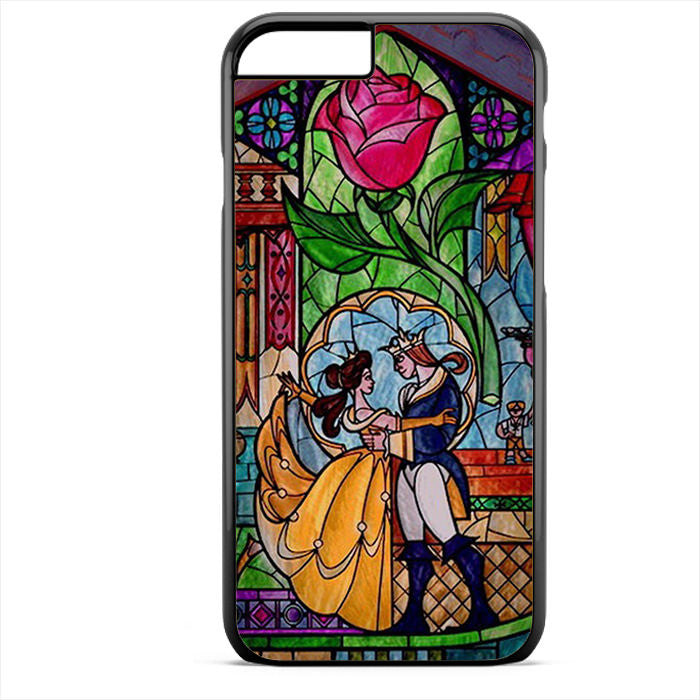 Beauty And The Beast Disney Phonecase For Iphone 4/4S Iphone 5/5S Iphone 5C Iphone 6 Iphone 6S Iphone 6 Plus Iphone 6S Plus