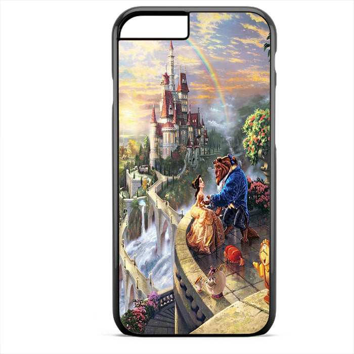 Beauty And The Beast Thomas Kinkade Phonecase For Iphone 4/4S Iphone 5/5S Iphone 5C Iphone 6 Iphone 6S Iphone 6 Plus Iphone 6S Plus
