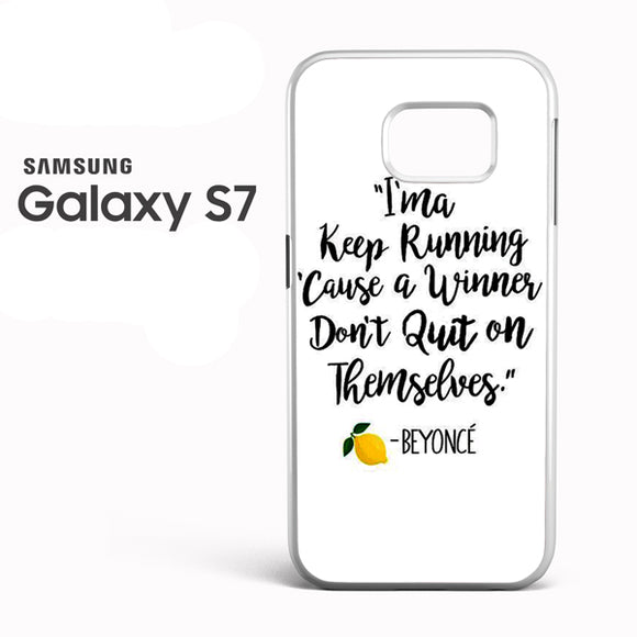 Beyonce Quote - Z - Samsung Galaxy S7 - Tatumcase