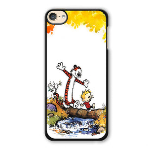 Calvin And Hobbes Smile Phonecase Cover Case For Apple Ipod 4 Ipod 5 Ipod 6