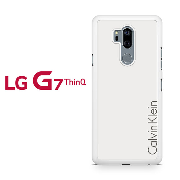 Calvin Klein White Bone - LG G7 ThinQ Case - Tatumcase