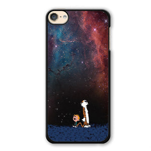 Calvin And Hobbes Nebula Phonecase Cover Case For Apple Ipod 4 Ipod 5 Ipod 6