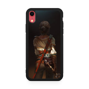 Ciri the wild witcher,Custom Phone Case, iPhone XR Case, Tatumcase
