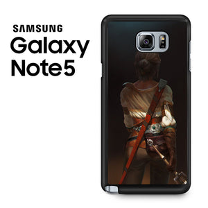 Ciri the wild witcher - Samsung Galaxy Note 5 Case - Tatumcase