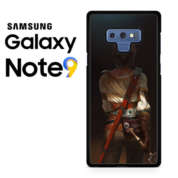 Ciri the wild witcher - Samsung Galaxy NOTE 9 Case - Tatumcase