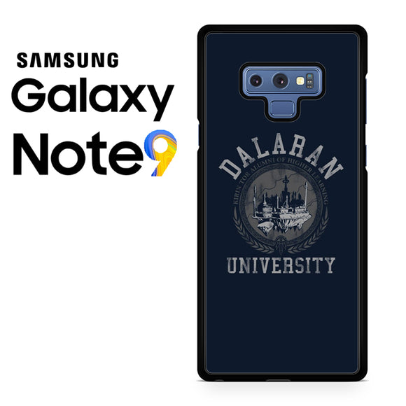Dalaran University World Of Warcraft YZ - Samsung Galaxy NOTE 9 Case - Tatumcase