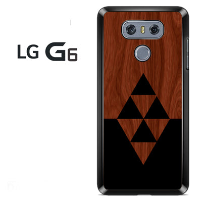 Darkwood Black Triangles - LG G6 Case - Tatumcase