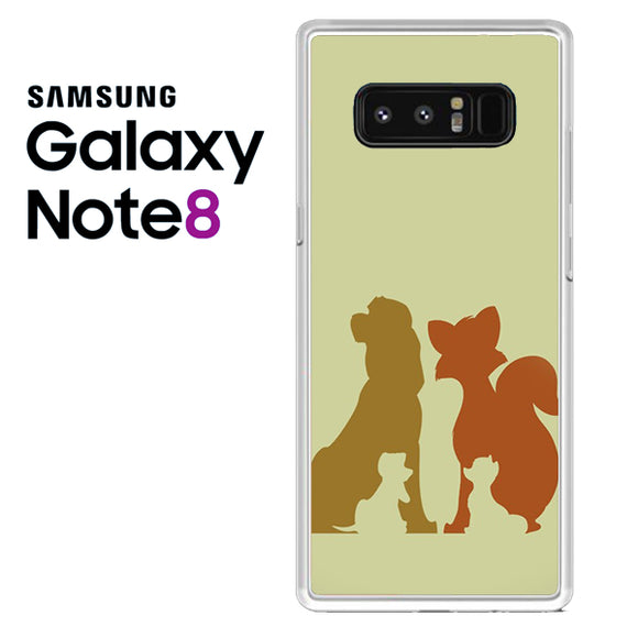 Disney The Fox And The Hound - Samsung Galaxy Note 8 Case - Tatumcase