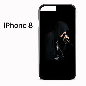 Eminem With Hooodie - iPhone 8 Case - Tatumcase