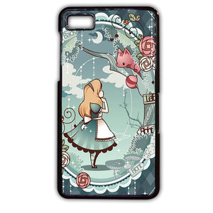 Alice In Wonderland Art TATUM-508 Blackberry Phonecase Cover For Blackberry Q10, Blackberry Z10 - tatumcase
