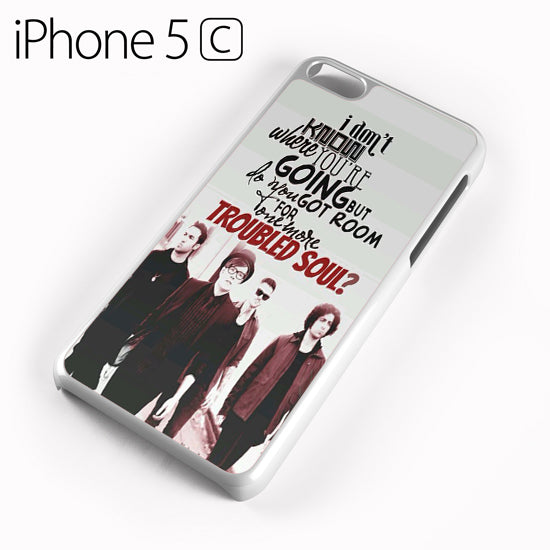 Fall Out Boy Quotes 7 - iPhone 5C Case - Tatumcase