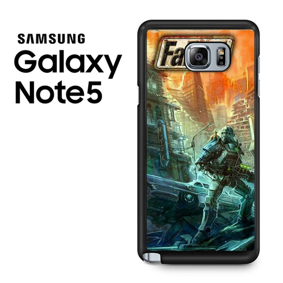 Fallout 4 Art 3 - Samsung Galaxy Note 5 Case - Tatumcase