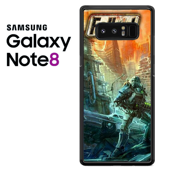 Fallout 4 Art 3 - Samsung Galaxy Note 8 Case - Tatumcase