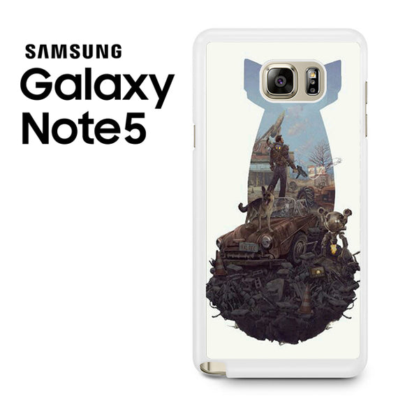Fallout 4 Art nuke - Samsung Galaxy Note 5 Case - Tatumcase