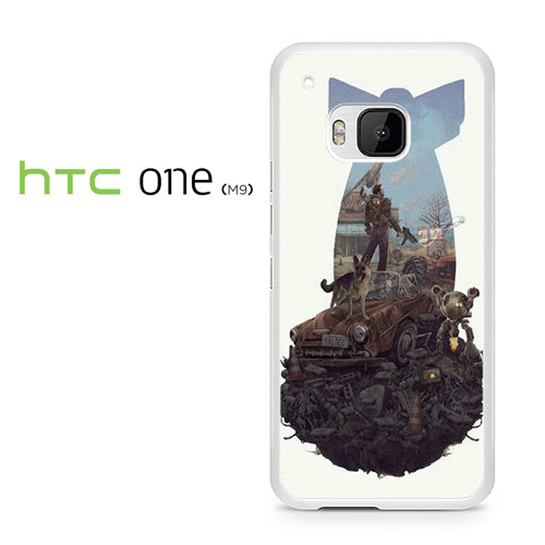 Fallout 4 Art nuke - HTC ONE M9 Case - Tatumcase