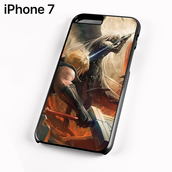 Final Fantasy Sephiroth Vs Cloud - iPhone 7 Case - Tatumcase