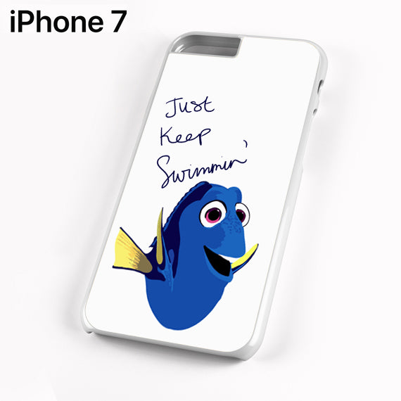 Finding dory just keep swimming quote - iPhone 7 Case - Tatumcase