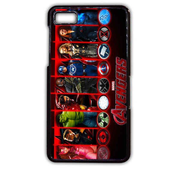 Age of Ultron All Character TATUM-372 Blackberry Phonecase Cover For Blackberry Q10, Blackberry Z10 - tatumcase