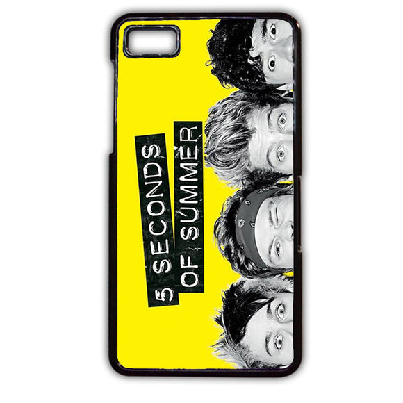 5 Seconds Of Summer Funny Eyes TATUM-88 Blackberry Phonecase Cover For Blackberry Q10, Blackberry Z10 - tatumcase