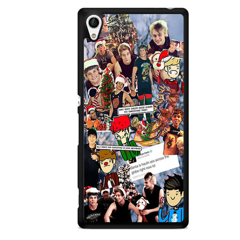 5 Second Of Summer Lock Screen TATUM-65 Sony Phonecase Cover For Xperia Z1, Xperia Z2, Xperia Z3, Xperia Z4, Xperia Z5
