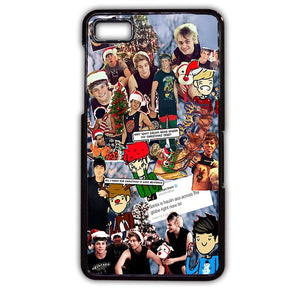 5 Second Of Summer Lock Screen TATUM-65 Blackberry Phonecase Cover For Blackberry Q10, Blackberry Z10 - tatumcase