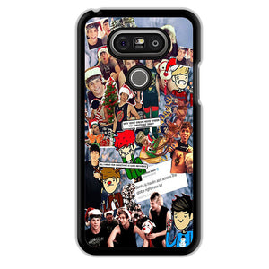 5 Second Of Summer Lock Screen TATUM 65 LG Phonecase Cover For G3