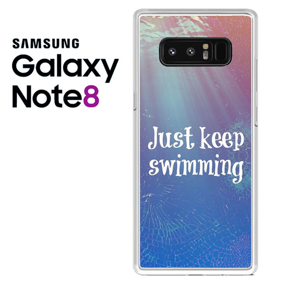 Just Keep Swimming NT - Samsung Galaxy Note 8 Case - Tatumcase