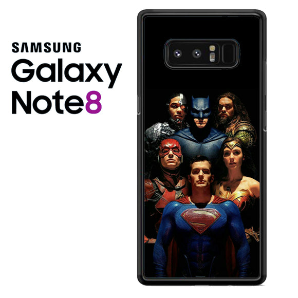 Justice League All Alley AA - Samsung Galaxy Note 8 Case - Tatumcase