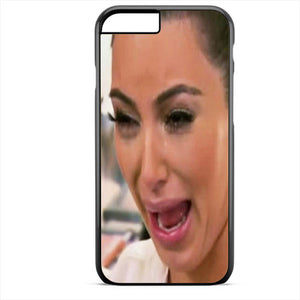 buy popular 041d0 1b333 Kim Kardashian Cry Ugly Face Master TATUM-6175 Apple Phonecase Cover For  Iphone SE Case