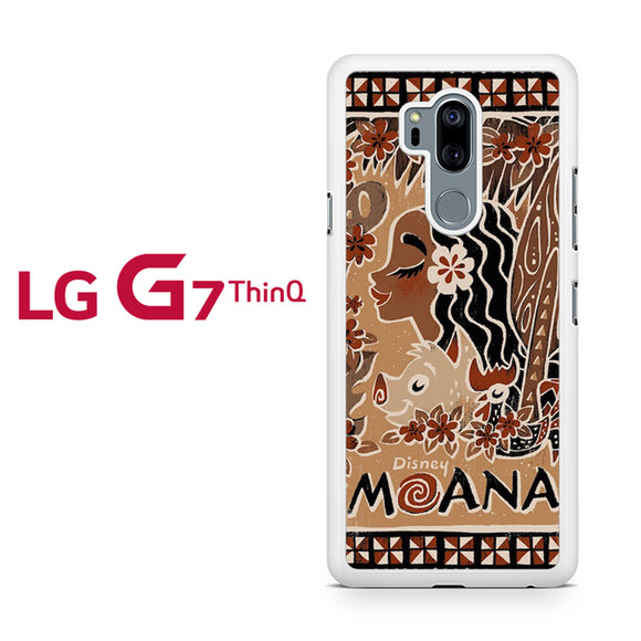 Moana DIsney Art DG, LG G7 ThinQ Case, Tatumcase