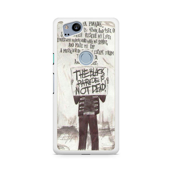 My Chemical Romance Lyrics, Custom Phone Case, Google Pixel 2 Case, Pixel 2 Case