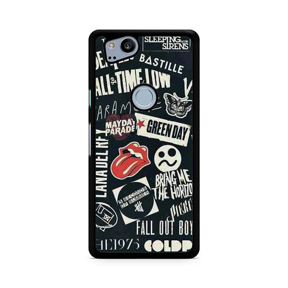 My Favorite Band 3, Custom Phone Case, Google Pixel 2 Case, Pixel 2 Case