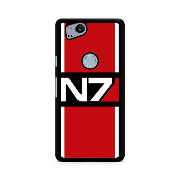 N7 Mass Effect, Custom Phone Case, Google Pixel 2 Case, Pixel 2 Case