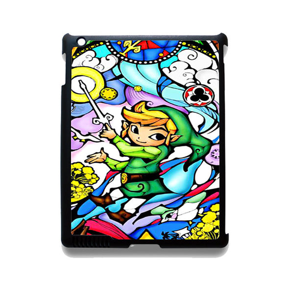 Zelda The Wind Waker TATUM-12214 Apple Phonecase Cover For Ipad 2/3/4, Ipad Mini 2/3/4, Ipad Air, Ipad Air 2