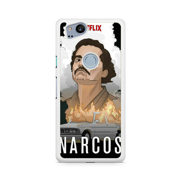 Narcos TV Series 2 AA, Custom Phone Case, Google Pixel 2 Case, Pixel 2 Case