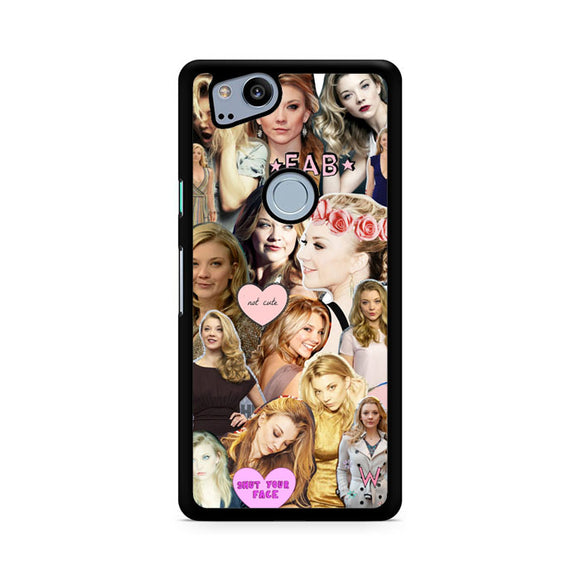 Natalie Dormer Collage, Custom Phone Case, Google Pixel 2 Case, Pixel 2 Case