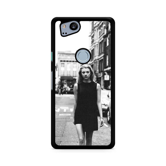 Natalie Dormer Vintage Photo, Custom Phone Case, Google Pixel 2 Case, Pixel 2 Case
