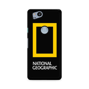 National Geographic Logo, Custom Phone Case, Google Pixel 2 Case, Pixel 2 Case