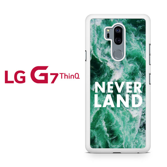 Never Land Peter Pan Disney NT, LG G7 ThinQ Case, Tatumcase