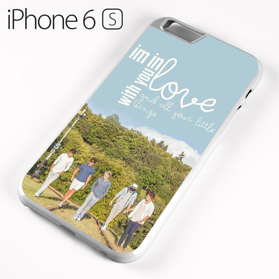 One Direction Lyrics I'm in love with you - iPhone 6 Case - Tatumcase